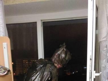 Superbohater czuwający nad miastem