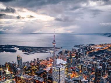 Toronto z lotu ptaka