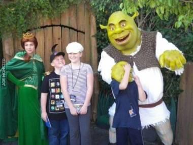 Najlepsze zdjęcie ze Shrekiem