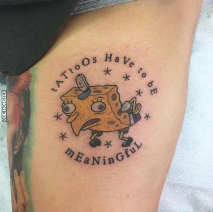 Tatuaże Muszą Mieć Jakieś Znaczenie Joe Monster