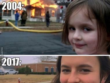 Disaster girl po latach