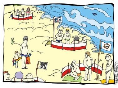 Polacy na plaży
