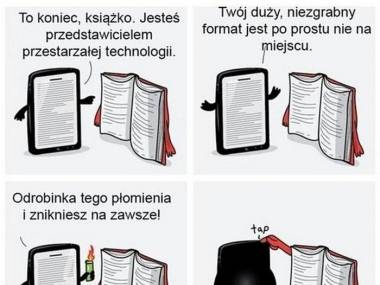 Książka górą