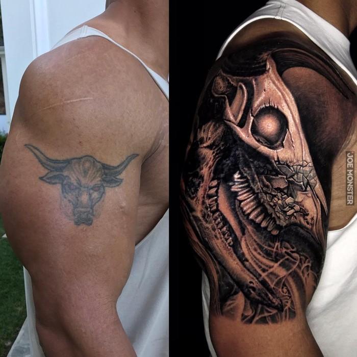 Nowy Tatuaż The Rocka Joe Monster