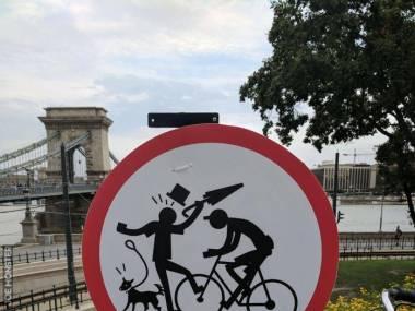 Zakaz wjazdu rowerzystom