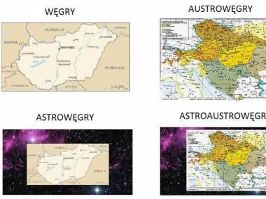 Węgry na mapie europy i nie tylko