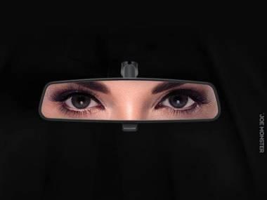 Reklama Forda w Arabii Saudyjskiej po tym jak król pozwolił wydawać prawo jazdy kobietom