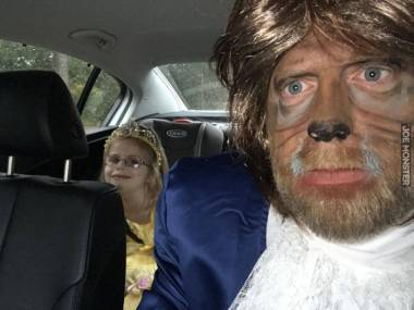 Piękna i Bestia w drodze na bal