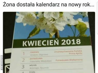 Kalendarz na 2018
