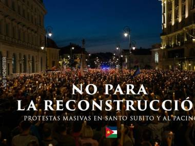 Po odwołaniu ministra Waszczykowskiego protesty na ulicach San Escobar