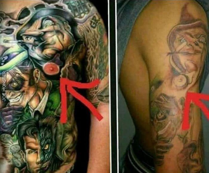 Kiedy Już Kradniesz Komuś Wzór Na Tatuaż To Nie Kopiuj