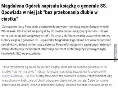 Talent literacki pani Ogórek