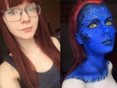 Sztukę makijażu doprowadziła do perfekcji