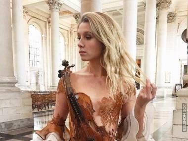 Suknia dla skrzypaczki