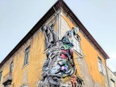 Street art w Portugalii
