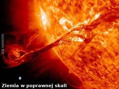 Koronalny wyrzut masy na Słońcu