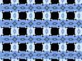 Niebieskie linie są do siebie równoległe