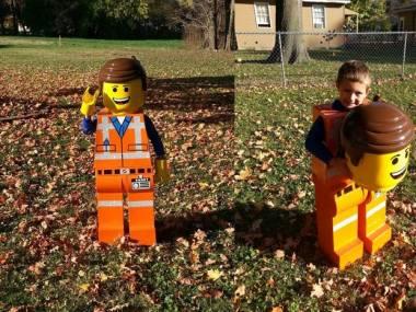 Fantastyczny kostium ludzika LEGO
