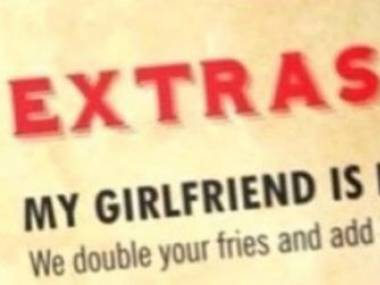 """Zestaw """"moja dziewczyna nie jest głodna"""""""