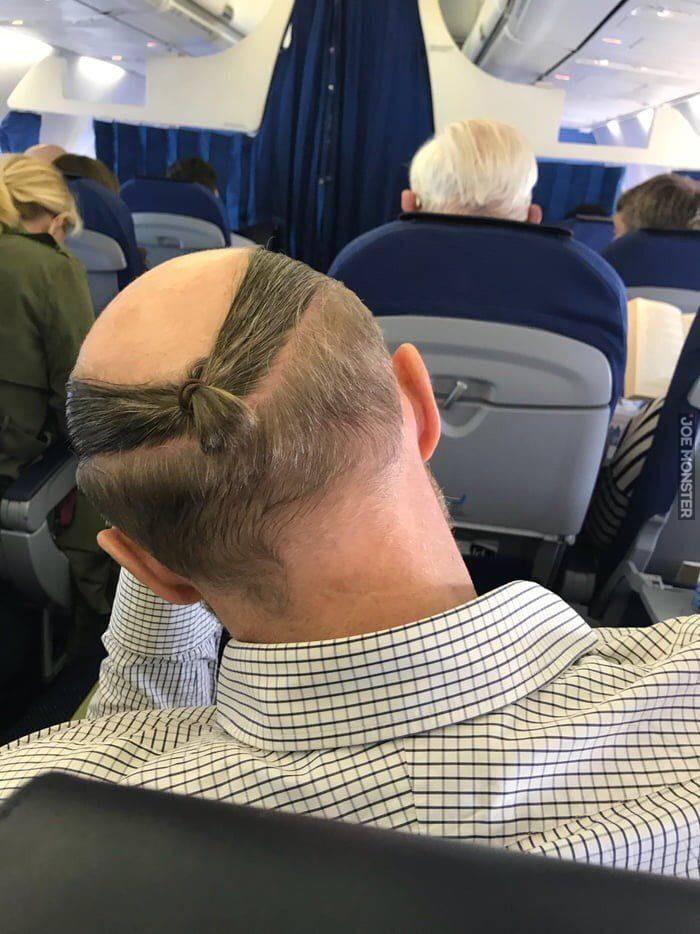 Bajerancka Fryzura Dla łysiejących Starszych Panów Joe Monster