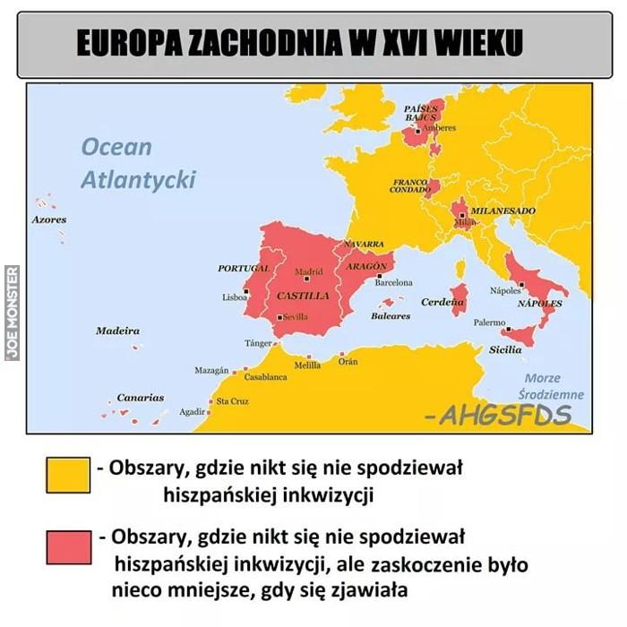 Europa W Xvi Wieku Joe Monster