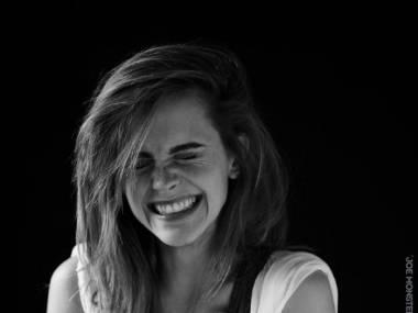Rozradowana Emma Watson