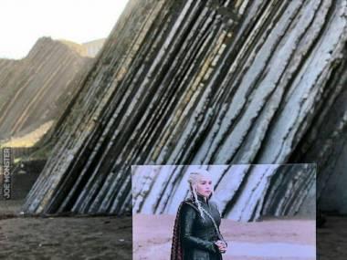 Znalazł miejsce gdzie stała Khaleesi, Pllentzia, Hiszpania
