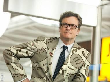 Colin Firth i jego kotnitur