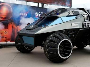Projekt nowego pojazdu NASA, który ma podróżować po Marsie