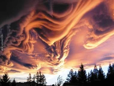 Chmury nad Nową Zelandią