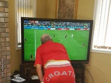 Tymczasem w Chorwacji podczas wczorajszego meczu