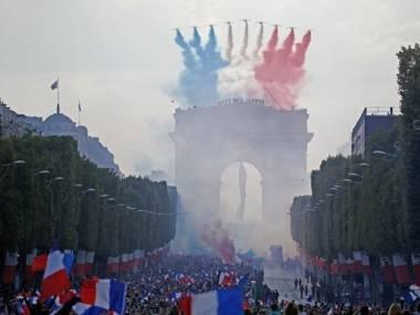 Powitanie reprezentacji narodowej po mundialu we Francji