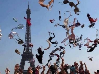 A tak świętowały Francuzki