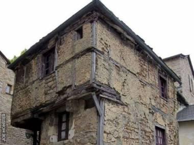 Najstarszy dom w Europie w Aveyron, Francja