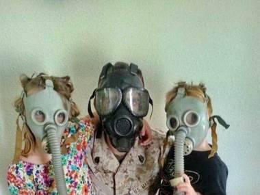 Rodzinna fotografia z Czarnobyla