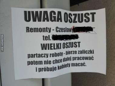 Czesław - partacz erotoman