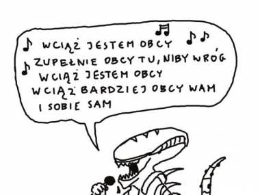 Alien karaoke