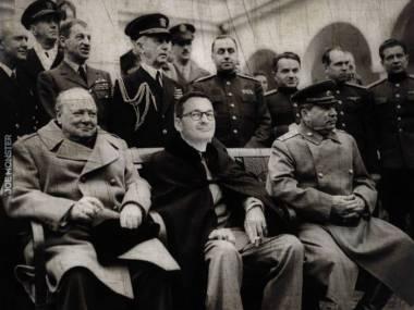 Fotografia znaleziona na strychu z roku 1945