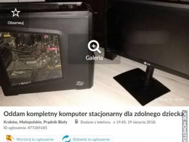 Komputer dla zdolnego dziecka
