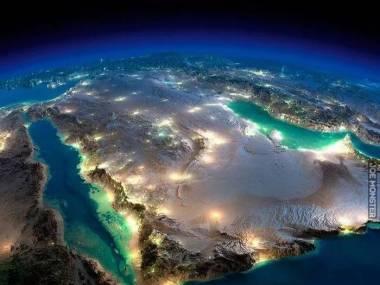 Niezwykłe zdjęcie Półwyspu Arabskiego z satelity NASA Suomi NPP