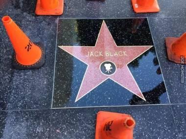 Jack Black doczekał się swojej gwiazdy w Alei Sław