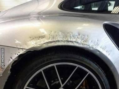 I weź zostaw psa w garażu z nowym Porsche 911