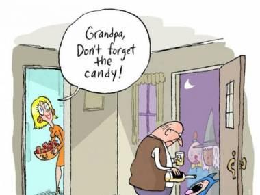 Dziadek ma coś lepszego dla dzieciaków