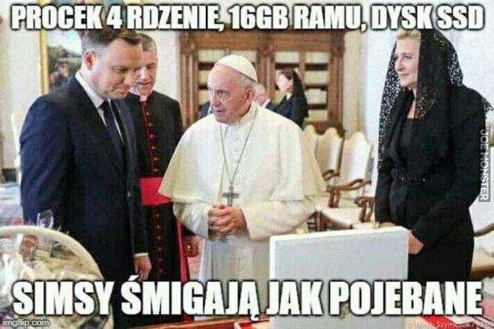 Andrzej też by takiego chciał 'Politycy'