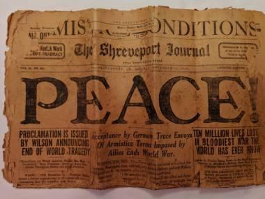 Gazeta z 11 listopada 1918 roku