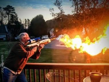 Dziadek chce zobaczyć jak świat płonie