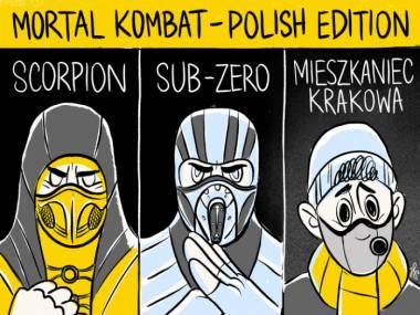Dwa wdechy w Krakowie i masz fatality