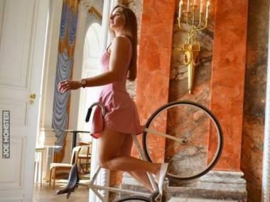 Akrobatka na rowerze