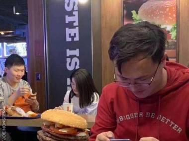 Męski burger
