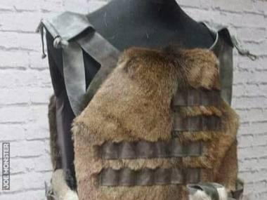 Dla współczesnego barbarzyńcy, do ochrony przed kulami